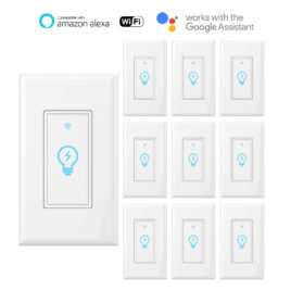 Smart Wifi Touch Light Switch 10pack