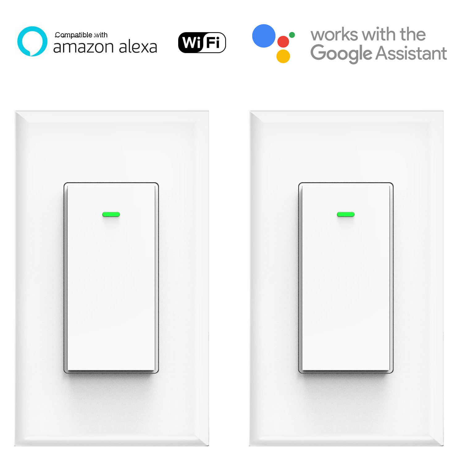 Smart Light Switch >> Smart Wifi Light Switch K36 2pack Kuled Com