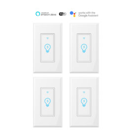 Smart WiFi Wall Light Switch K38 4pack