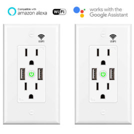 Smart wifi USB Outlet